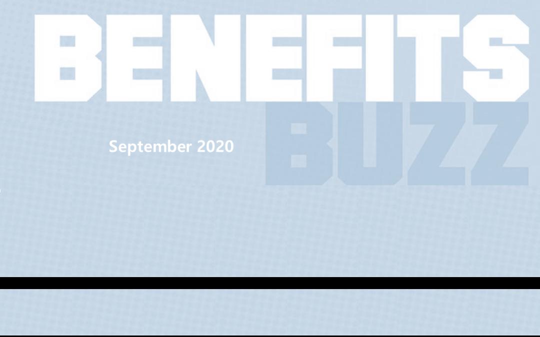 BENEFITS BUZZ September