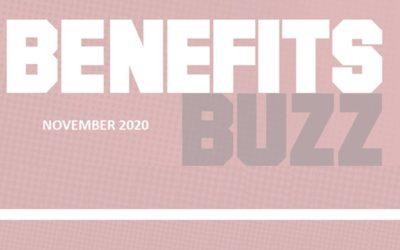 BENEFITS BUZZ November